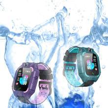 Дети смарт-телефон часы 1,44 не/водонепроницаемый циферблат вызова голоса Android iOS