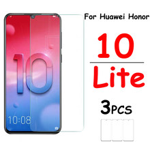 Honor10 case for huawei honor 10 lite bumper cases on huawey huawai huaway huavei huwei honer 10lite glas light glass cover 3pcs(China)