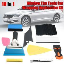 คาร์บอนไฟเบอร์ไวนิลห่อรถชุดเครื่องมือ Window Tint Wrap สติกเกอร์ชุดเครื่องมืออัตโนมัติรถอุปกรณ์เสริมคาร์บอนฟอยล์ Tinting Squeegee ฟิล์ม