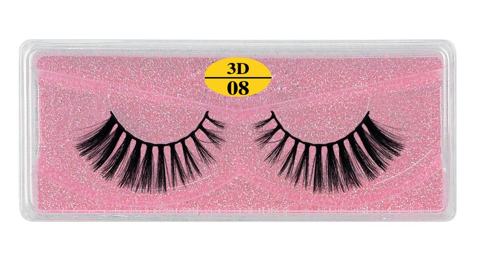 H27ff3706f8fd40e489c943d1b3e318340 - MB Eyelashes Wholesale 40/50/100/200pcs 6D Mink Lashes Natural False Eyelashes Long Set faux cils Bulk Makeup wholesale lashes