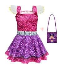 Surprise cosplay doll girl Christmas Lol dress suspender ballet skirt child