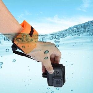 Image 3 - Accesorio para GoPro buceo natación flotante Bobber correa para mano y muñeca para Go Pro Hero 4 5 6 7 Sjcam Sj4000 D20 D30 Action Cam