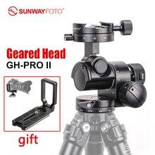 Sunwayfoto GH PRO Ii Voor Sony Nikon Canon Dslr Camera Panorama Head Arca Zwitserse Statief Gear Hoofd Panoramisch Hoofd