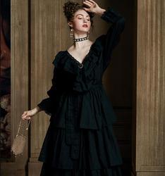 Новинка 2020, ночная рубашка, элегантное роскошное платье, Дамская королевская ночная рубашка, женское вечернее платье, летняя длинная ночная...