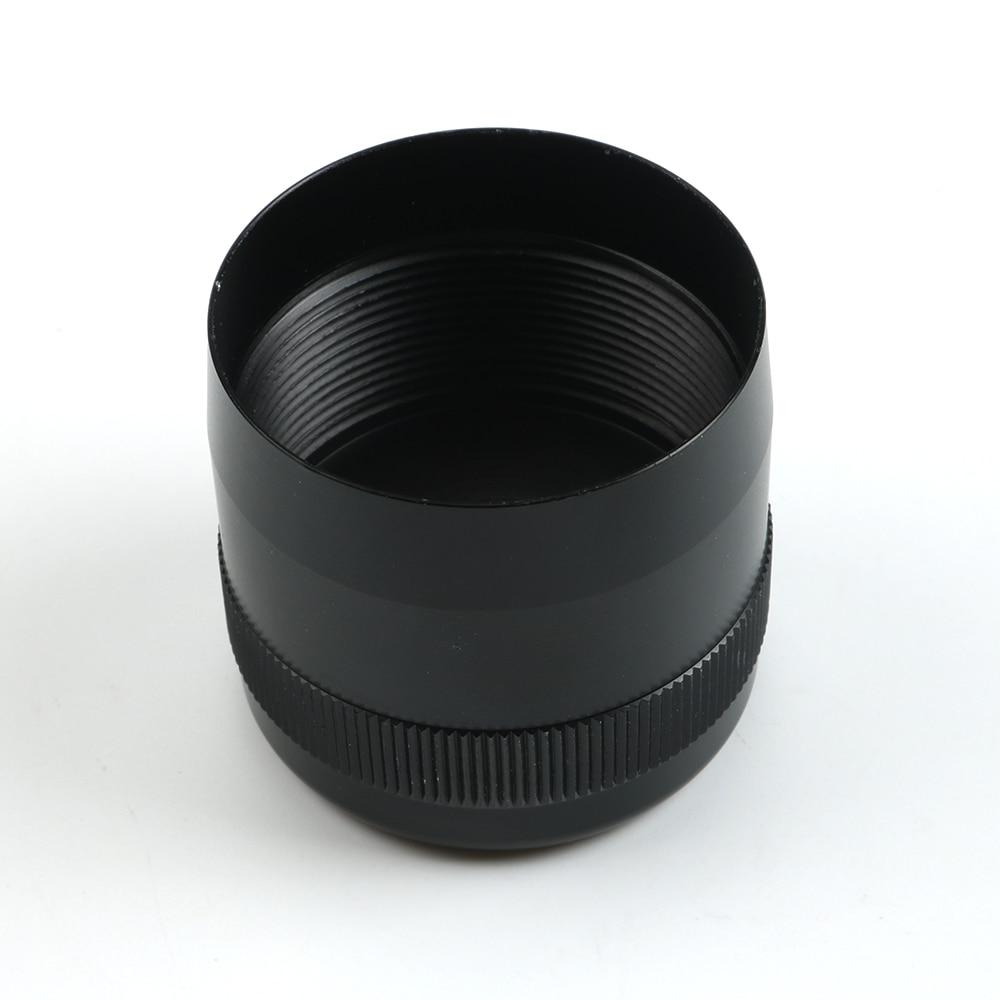 Details about  /For Maglite Flashlight D Cell Cap Set 1//2-28 Aluminum End Caps Black Replacement