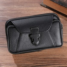 Men's Outdoor Trend Solid Color Lychee Leather Coin Purse Wallet Bag wallets Mini портмоне мужской кошелек monederos para mujer