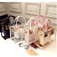 Special Offer Transparent Jelly Crystal Bag 2020 New Style Beach Hand  Shoulder Korean-style Fashion Picture WOMEN'S