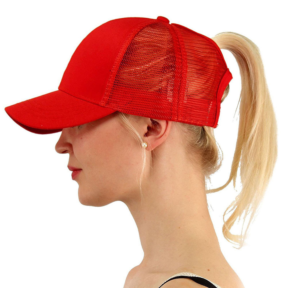 <font><b>Glitter</b></font> <font><b>Ponytail</b></font> <font><b>Baseball</b></font> <font><b>Cap</b></font> <font><b>Women</b></font> Snapback Hat Mesh <font><b>Caps</b></font> Messy Bun Summer Hat Female Hip Hop Hats Protective Sun image