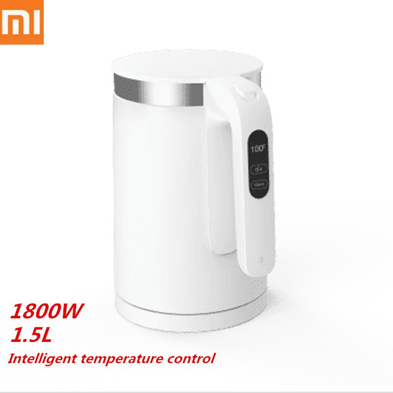 XIAOMI VIOMI Pro Electric Kettle 1.5L 1800W Smart Constant Temperature 5min Fast Boiling OLED Water Kettle APP Control Household