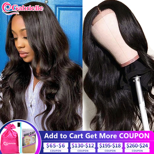 Brazilian Body Wave 13x4 Lace Front Wigs Human Hair 30 Inch 4x4 5x5 6x6 Lace Closure Wigs for Black Women Remy Hair Gabrielle