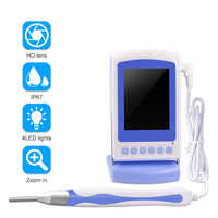 3.9mm Ear Endoscope Digital Handheld Adjustable Monitor Digital Zoom Lens Inspection Camera Ear Spoon Cleaning Ear Spoon Tool
