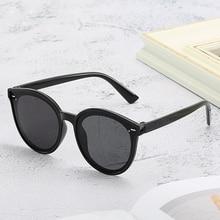 Детские Большие Круглые Солнцезащитные очки «кошачий глаз» 2020, модные брендовые дизайнерские детские солнцезащитные очки унисекс, винтажн...