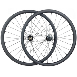 Image 1 - 29er MTB XC 36mm carbon BOOST tubeless wheels 30mm inner clincher wheelset UD 3K 12K Novatec D791 D792 15X110 12X148 11s XD 12s