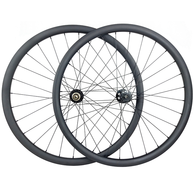 29er MTB XC 36mm carbon BOOST tubeless wheels 30mm inner clincher wheelset UD 3K 12K Novatec D791 D792 15X110 12X148 11s XD 12s