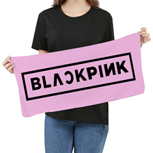 KPOP 2019 Blackpink Towel Fans Respond To Aid Periphery Wash One's Face A Piece Of Cloth Exceed Fine Fiber Banner