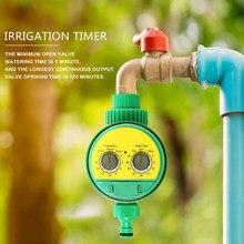 1 pçs inglês eletrônico inteligência jardim sistema de irrigação temporizador controlador programas água conexão g3/4 rosca torneira