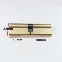 Change Anti-theft Door Lock Core 65/70/85/90/100/105 / 110mm Decoration Ab Lock Core A Grade Home Anti-pry C door cylinder hardware biased lock 65 110mm cylinder ab key anti theft entrance brass door lock lengthened core extended custom