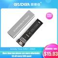 Чехол для M2 SSD, футляр NVME M.2 на USB Type C 3,1, адаптер SSD для Dual NVME PCIE NGFF SATA M/B, чехол для ключа 2230/2242/2260/2280 SSDadaptador ssd m2 nvme para sata 3 case boitier ssd корпус ssd case ssd ...