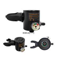 SMACO Diving Equipment Mini Scuba  Oxygen cylinder head parts