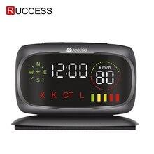 Ruccess S800 wykrywacz radarów s policja prędkość samochodu wykrywacz radarów GPS rosyjski 360 stopni X K CT L antyradarowy detektor samochodów