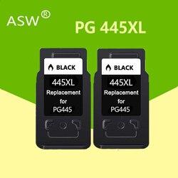 Wielorybnictwa prowadzonego w PG-445 CL-446 PG445 CL 446 kompatybilny PG445XL 445XL atrament kartridż do canona PIXMA MG 2440 2540 2940 MX494 IP2840 drukarki