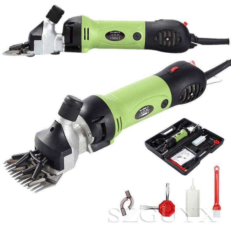 220В маленькие электрические шерстяные ножницы для домашних животных ножницы для пастбищ инструмент - 3