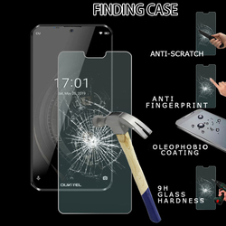 На Алиэкспресс купить чехол для смартфона protective tempered glass on the suitable for oukitel k12 screen protector protective film mobile phone accessories