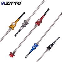 ZTTO Road Bike Quick Release Lever Bicycle Titanium Alloy CNC Rod Riding Accessories Tools|Bicycle Repair Tools|   -