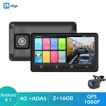 Rearview Cam Car-Video-Recorder Car Dashboard Gps Navigation ADAS Android 8.1 Car-Dvr