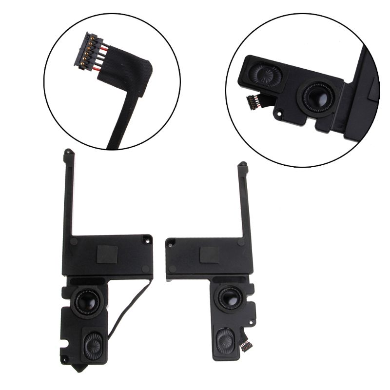 2Pcs/Pair L/R Set Replacement A1398 Left + Right Side Internal Speaker for Macbook Pro 15 A1398 Speaker 2012 2013 2014 2015 Ye image