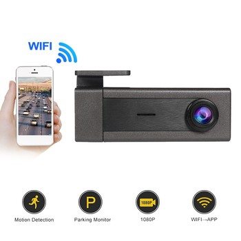 2K WIFI Dashcam 360° Rotation Full HD 1440P Car DVR Recorder USB Motion Detection Night Vision 170 Degree Wide Angle Dash Cam image