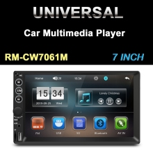 7 Polegada duplo 2din carro mp5 player fm bluetooth imprensa sn multimídia estéreo rádio invertendo câmera player