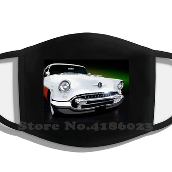 Oldsmobile Holiday Coupe 1955 Half Face For Men Women Ladies Diy Mouth Masks Automotive Car Transportation Auto Cars Garage Car image