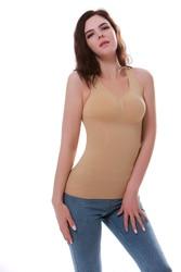 Shaper Slim Up Lift Plus Size Bra Tank Top Women Body Removable Underwear Slimming Vest Corset Shapewear Hot 2019