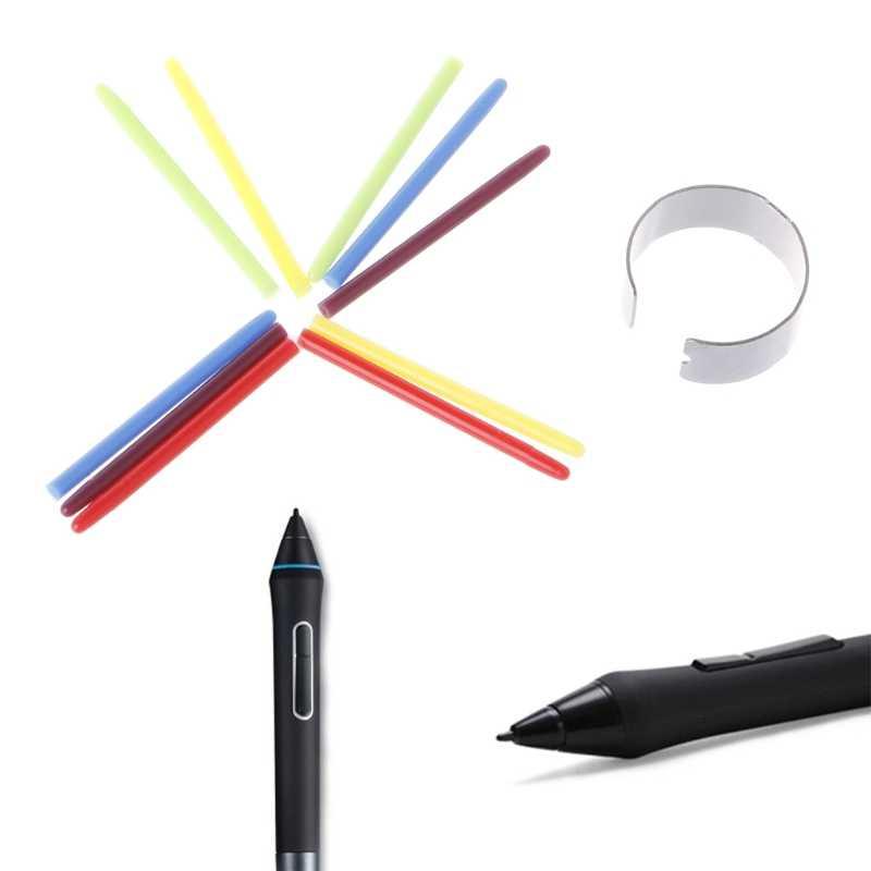 10 قطعة الرسم لوح للرسم قلم قياسي Nibs القلم ل Wacom الخيزران قلم رسم H7EC