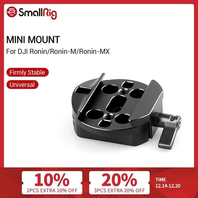 SmallRig Quick Plate Mount для DJI Ronin/ DJI Ronin m (Mini) и Ronin MX стабилизатор штатив крепление система стабилизации видео 1682