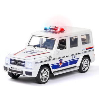 Coches de juguete para niños Mercedes G65, colección de modelos de coches AMG, coches de juguete para niños, regalo brinquedos, 1/32