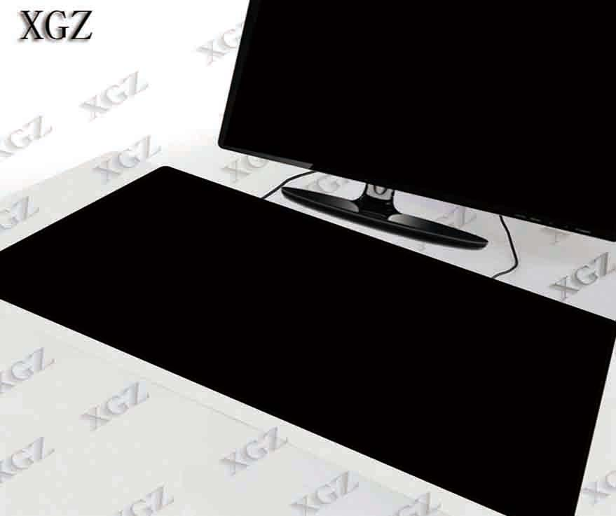 XGZ 600x300 900x400MM Large Big Sizes Gaming Mouse Pad Black Mousepad Lock Edge Laptop Pc for CSGO Game Gamer Computer Accessory