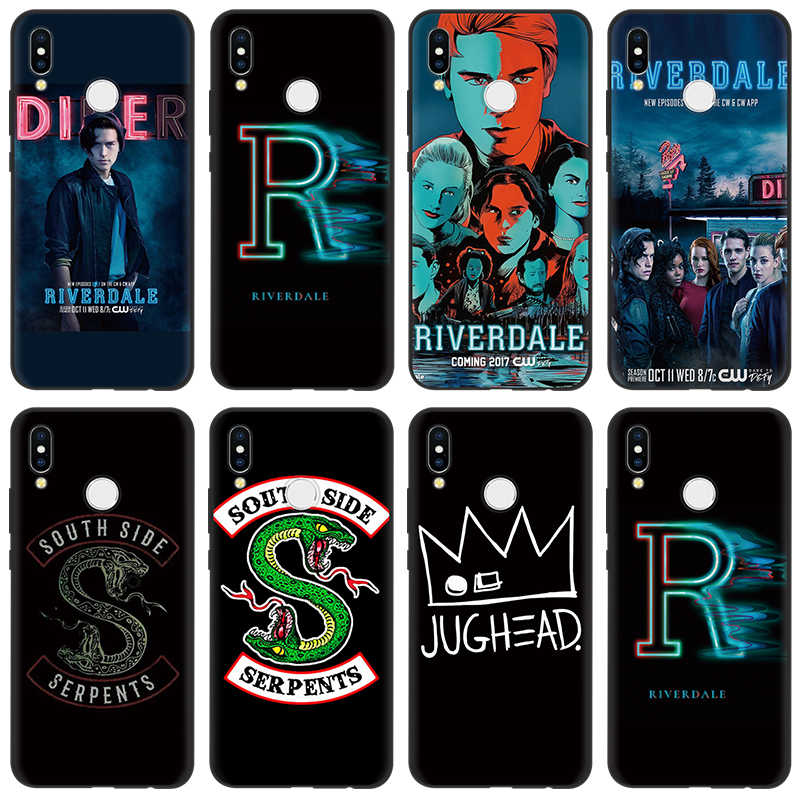 Riverdale Southside Serpent Case For Huawei P10 P8 P20 P30 Pro P9 Lite mini P Smart 2019 TPU Case For Huawei Mate 10 20 Pro Lite