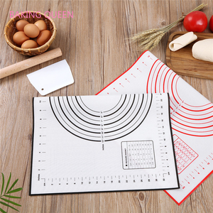 Антипригарный силиконовый коврик для выпечки лист тесто для пиццы большой разделочный 70*50 доска замесить силиконовый коврик прокатки тест...