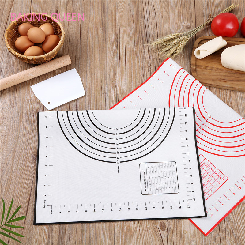 Non-Stick Silicone Baking Mat Sheet Pizza Dough Large Chopping 70*50 Board Knead Silicone Pad Rolling Dough Bakeware Accessories