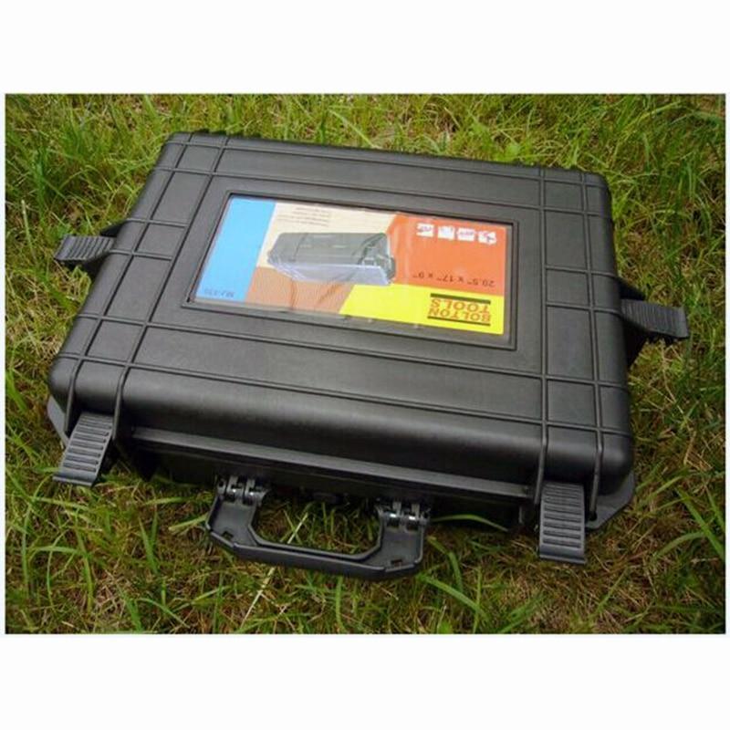500x350x200MM ABS įrankių dėklo įrankių dėžė. Smūgiams - Įrankių laikymas - Nuotrauka 3