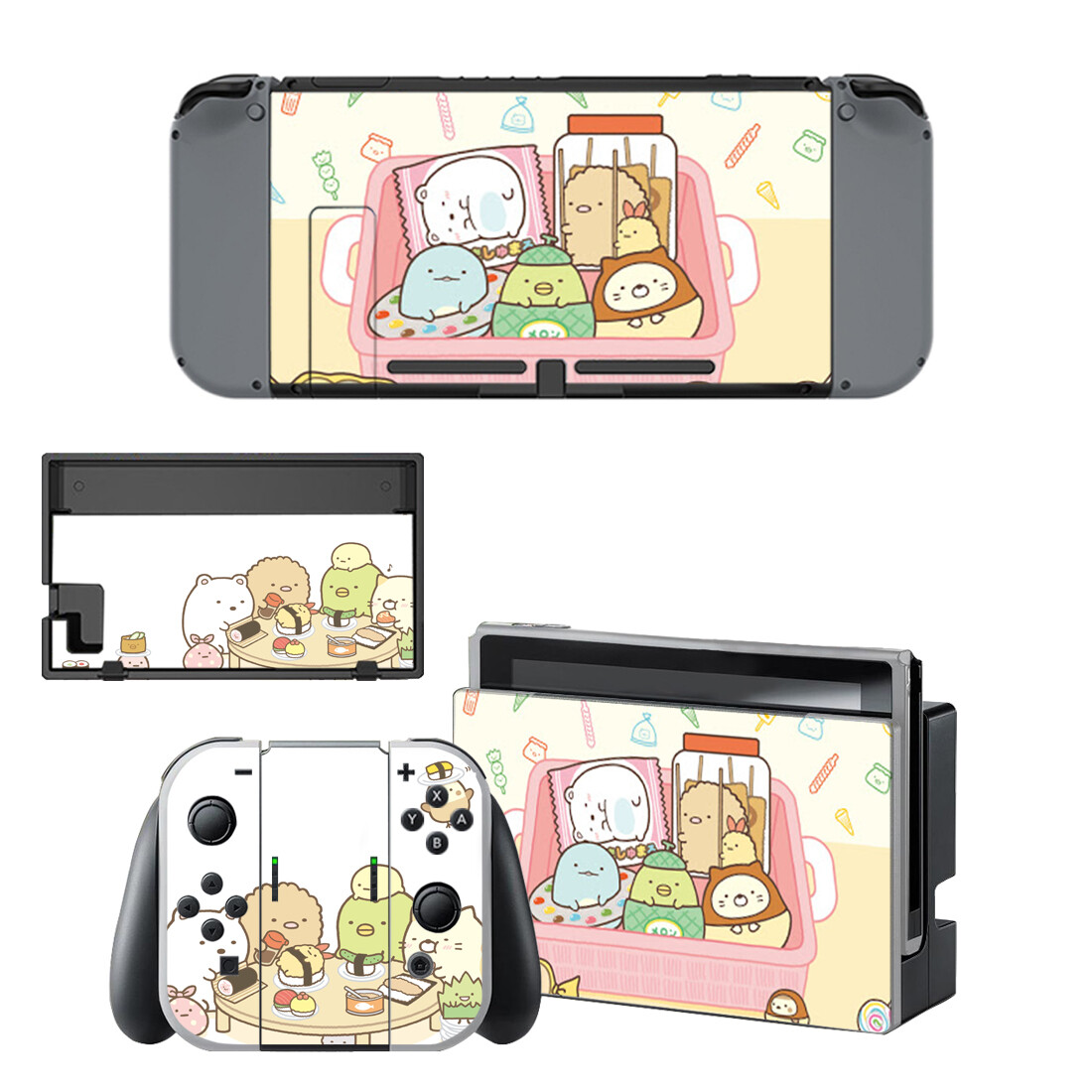 Sumikko Gurashi Nintendo Switch Skin Sticker NintendoSwitch Stickers Skins For Nintend Switch Console And Joy-Con Controller