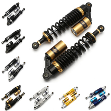 Universal 13.5 340mm Eye Diameter 12mm Rear Air Shock Absorber Suspension Spring Motorcycle Scooter Dirt Bike Gokart Quad D30 tdpro 285mm 11shock absorber rear suspension for motorcycle pit dirt pocket bike atv quad buggy