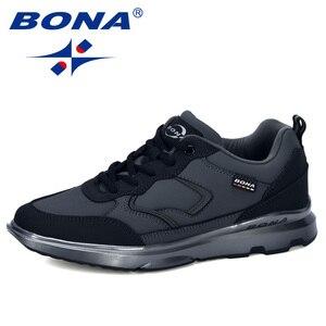 Image 3 - BONA zapatos informales para hombre zapatillas cómodas antideslizantes, deportivas, calzado de ocio, 2019