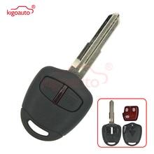 цена на Remote key for Mitsubishi Montero Pajero Shogun 2006-2014 MIT8 Left type blade 433mhz ID46 2 Button car key Kigoauto