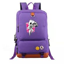 цены High Quality School Bag Girl Fashion Backpack Cartoon Character Backpack For Kids Boy Girl Women Man Cool Backpack