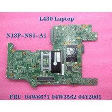 For Lenovo Thinkpad L430 Notebook Mainboard 11248-2 SLJ8E Laptop motherboard FRU  04Y2001 04W3562 04W6671