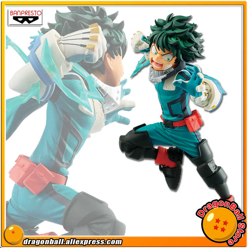 "Japan Anime ""Mijn Hero Academia De Movie Heroes: rising"" Originele Banpresto Collection Figuur-Deku (Vs Schurk)"