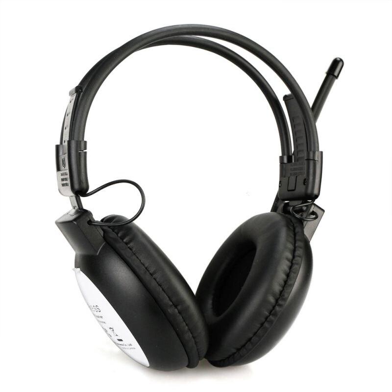 Casque Radio FM Portable sur l'oreille, casques Mono/stéréo pour conférences et Sessions